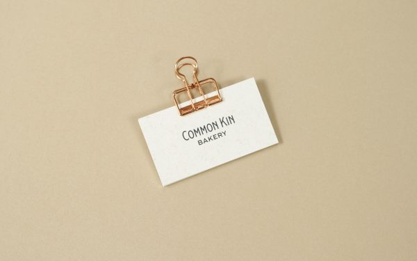 Common Kin Bakery Business Cards