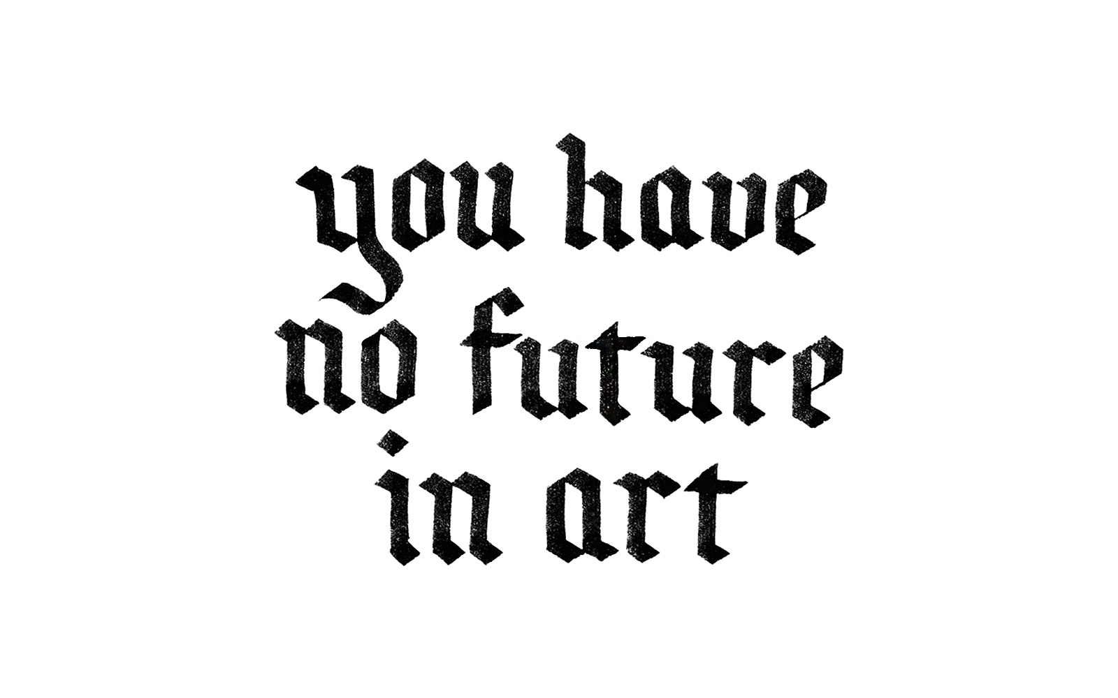 NoFutureInArt_CreativeSouth_2016